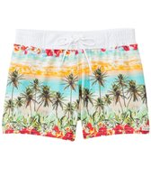 Sauvage South Seas Palm Trees Swim Trunk
