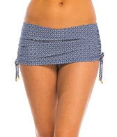 Helen Jon White Sands Skirted Hipster Bottom