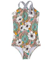 O'Neill Girl's Monoco One Piece Swimsuit (4yrs-14yrs)