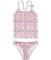 O'Neill Girl's Majestic Tankini Two Piece Set (4yrs-14yrs)