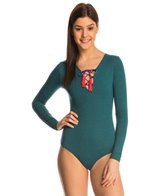Seea Heather Solanas L/S One Piece Swimsuit
