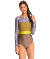 Seea Dawn Hermosa L/S One Piece Swimsuit