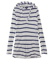 Splendid Girls' Full Bloom L/S Hooded Cover Up Tunic