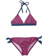 Splendid Girls' Malibu Stripe Tankini Two Piece Set (4yrs-6X)