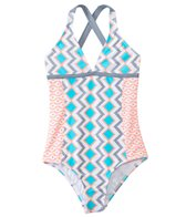 Splendid Girls' Astoria One Piece Swimsuit (4yrs-6X)