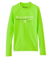 Billabong Boy's All Day Long Sleeve Rash Guard
