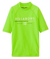 Billabong Boy's All Day Short Sleeve Rash Guard