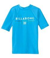 Billabong Boy's All Day Short Sleeve Rash Guard