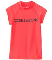 Billabong Girl's Surf Dayz Short Sleeve Rash Guard