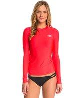 Billabong Women's Core Loose Fit Long Sleeve Surf Tee