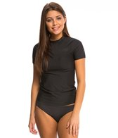 Billabong Women's Core Loose Fit Short Sleeve Surf Tee