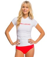 Billabong Women's Surf Dayz Short Sleeve Rash Guard