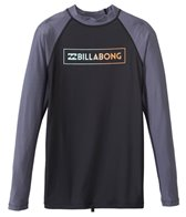 Billabong Men's All Day Raglan Long Sleeve Surf Tee