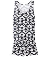Ella Moss Girls' Zaire Cover Up Romper (7yrs-14yrs)