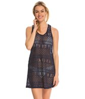 J.Valdi XO Lace Ring Back Tank Cover Up Dress