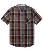 O'Neill Men's Emporium Plaid Short Sleeve Shirt
