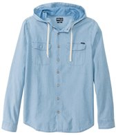 O'Neill Men's Afterparty Long Sleeve Button Up Hoodie