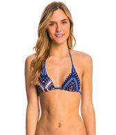 Hurley Tie Dye Maze Reversible Triangle Bikini Top