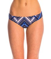 Hurley Tie Dye Maze Reversible Brief Bikini Bottom