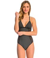 Hurley Meshed Up One Piece Swimsuit