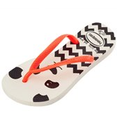Havaianas Girls' Slim Fashion Flip Flop