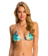 Sunsets Tropical Oasis Slide Triangle Bikini Top