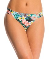 Sunsets Tropical Oasis Side Shirred Bikini Bottom