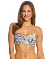 Sunsets Sunburst Underwire Twist Bandeau Bikini Top (D/DD Cup)