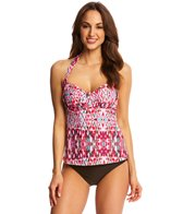 Sunsets Veranda Underwire Sweetheart Tankini Top (D/DD Cup)