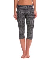 PL Movement Traverse Tribal Landscape Printed Yoga Capris