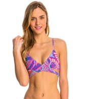 Reef Tropical Jungle Lined Wrap Top