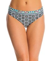 La Blanca Tile Flora Hipster Bikini Bottom