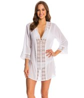 La Blanca Island Fare V-Neck Tunic Cover Up