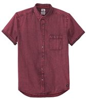 Quiksilver Men's The Clackton Short Sleeve Shirt