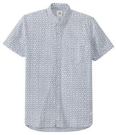 Quiksilver Men's Plumes Oxford Short Sleeve Shirt