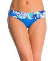 Swim Systems Ocean Palms Flat Fold Hipster Bikini Bottom