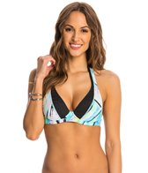 Swim Systems Northern Lights Push Up Slide Tri Bikini Top (D-Cup)