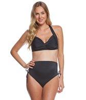Prego Maternity Swimwear Solid Bombshell Bikini Set