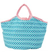 Cabana Life Coral Seas Canvas Bag