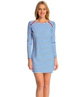 Cabana Life Essentials Zip Shoulder Cover Up Swim Dress