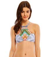 Rip Curl Swimwear Mayan Sun Hi Neck Bikini Top