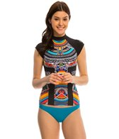 Rip Curl Swimwear Tribal Myth S/S Rashguard