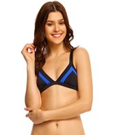 Rip Curl Swimwear Mirage Colorblock Triangle Bikini Top