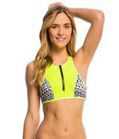 Rip Curl Swimwear Bomb Aftershock Crop Bikini Top