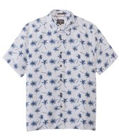 Quiksilver Men's Mini Palms Short Sleeve Shirt