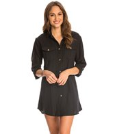 Dotti Sanibel Island Cover Up Shirt Dress