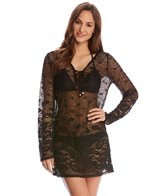 Dotti Riviera Paisley Hoodie Cover Up Tunic