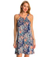 Dotti Paisley Palace A-Line Cover Up Dress