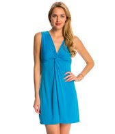 Dotti Tropic Twirl Twist Front Cover Up Dress