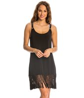 Dotti Tropic Twirl Macrame Cover Up Dress
